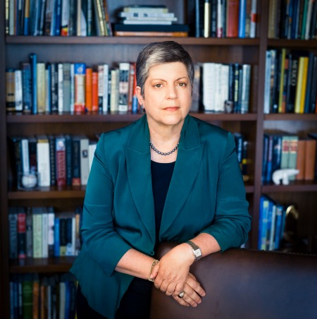 Janet Napolitano Discusses